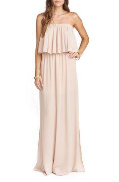Show Me Your Mumu 'Hacienda' Convertible Off the Shoulder A-Line Gown $172.00