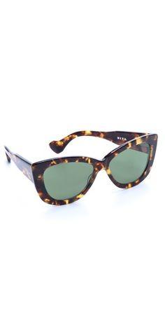DITA Vesoul Sunglasses | SHOPBOP or just a GOOD pair of cat eyes shades