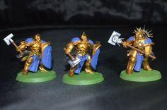Warhammer Stormcast Eternals Order Age Of Sigmar Painted Retributors x 3