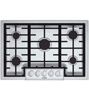 Gas Cooktops & Gas Stove Tops | Bosch Dual Stack Burners