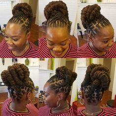 Natural Hair done Right Dreads Styles, Dreadlock Styles, Natural Hair Salons, Natural Hair Styles, Short Hair Styles, Beautiful Dreadlocks, Dreads Girl, Dreadlock Hairstyles, Hair Videos