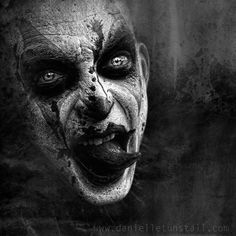 I love Art ,Horror and other nice things. All the Pictures that I post do not belong to me! Gruseliger Clown, Creepy Clown, Creepy Art, Creepy Horror, Creepy Stuff, Tachisme, Arte Horror, Vampires, Pop Art