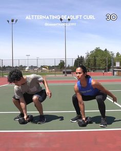 FREE at home workout or anywhere! All you need is a partner and one dumbbell. This strength hiit workout includes 6 muscle building and fat burning exercises for a full body blast workout -- 20 Minute Full Body Strength HIIT Workout | Partner Dumbbell Workout 20 Minute Hiit Workout, Cardio, Hiit Workout At Home, Workout Videos, At Home Workouts, Workout Partner, Workout Men, Workout Plans, Walking Workouts