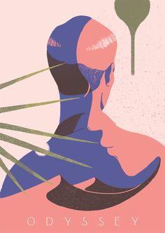 Subtle And Curvy Illustrations – Fubiz Media