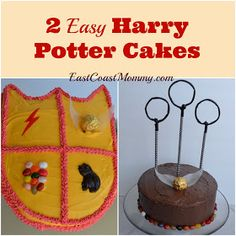 East Coast Mommy: Easy Harry Potter Cakes