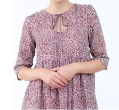 Megan Nielsen Sudley dress-blouse pattern Crop Blouse, Blouse Dress, Tunics, Blouses, Gathered Skirt, Beautiful Patterns, New Product, Tunic Tops, Sewing