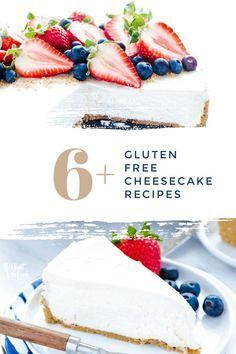 Who doesn't love cheesecake? Now you can have 6 different recipes for everyone's favorite dessert! What could possibly be better? I know, they're all gluten free! These recipes are so good and so easy to make you'll be amazed. Bring a delicious gluten free cheesecake to any party and become everyone's favorite person. Try it out today!