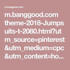 m.banggood.com theme-2018-Jumpsuits-t-2080.html?utm_source=pinterest&utm_medium=cpc&utm_content=hoo&utm_campaign=ik-fh-wcl-ce3-us-dre-fall-b1&pp=0&epik=0vmVQE_IWn-V- Fashion Online, Jumpsuits, Campaign, Content, Medium, Fall, Tote Handbags, Summer Outfits, Dressing