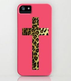 Cheetah cross phone case is so nice it also repesents our father jesus