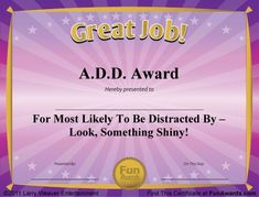 Office Gag Certificates   Google Search Funny Certificates, Award  Certificates, Certificate Templates, Preschool
