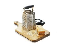 6-Sided Box Grater with Removable Ginger Grater