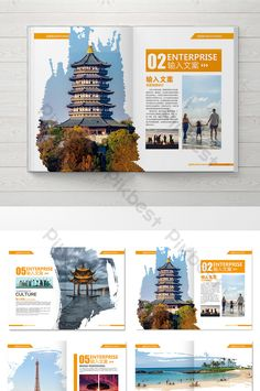 Page Layout Design, Graphic Design Layouts, Book Design, Magazine Design Inspiration, Magazine Layout Design, Magazine Layouts, Travel Brochure Design, Travel Design, Mise En Page Magazine