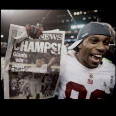 NY Giants Super Bowl Champs!