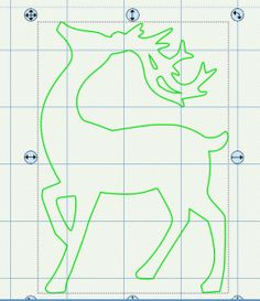 Free Reindeer SVG File
