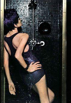 Photo by Helmut Newton, 1967.
