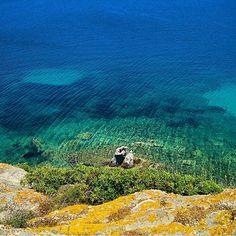 50 shades of #Patmos #Greece | via @ILovePatmos  Photo:Christou Evaggelos