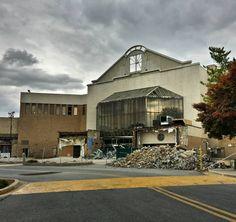 [OC][1080x1017] Demolition progress of White Flint Mall Rockville MD