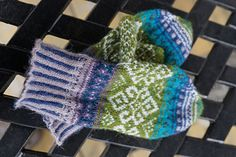 Ravelry: Fall's Hope Fair Isle Mittens pattern by Karen Fletcher Knitting Charts, Knitting Patterns, Mittens Pattern, Spring Colors, Mitten Gloves, Fingerless Gloves, Arm Warmers, Knitted Hats, Hands