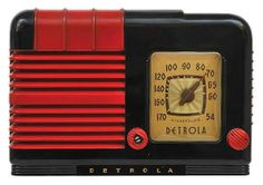 Detrola 420 Radio American, circa 1940