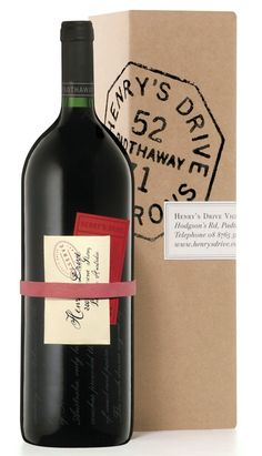 Henry's Drive Vignerons wine packaging  wine / vinho / vino mxm