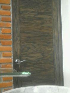 Hickory door