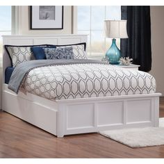 Clean lines and a traditional look make the Marjorie Storage Panel Bed a suitable addition to many a room, seamlessly incorporating additional storage space through under-bed drawers.