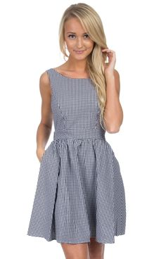 Lauren James Emerson Gingham Dress