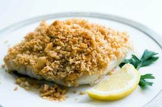 Baked Cod Fish Recipes With Butter. Broiled Fish With Lemon Curry Butter Recipe NYT Cooking. Baked Cod In Cream Sauce Favorite Family Recipes. Cod Fish Recipes, Baked Cod Recipes, Seafood Recipes, Cooking Recipes, Budget Recipes, Delicious Recipes, Dinner Recipes, Ritz Crackers, Bon Appetit