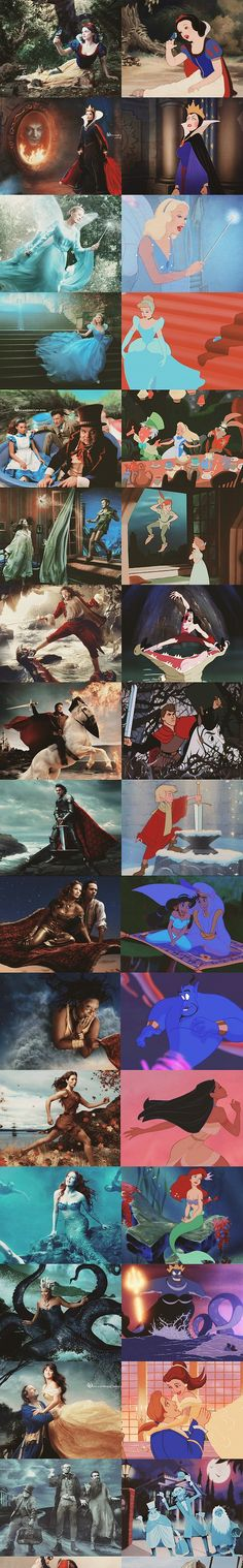 Annie Leibovitz's Disney Dream Portraits, I appreciate these so much more now that I have taken a digital photography class...!