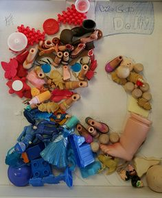 Recycled toy parts face Art Ed Central Reuse Recycle, Upcycle, Recycling, Recycled Toys, Arts Ed, Face Art, Artsy Fartsy, Upcycling, Upcycled Crafts