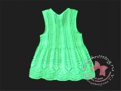 The dress is knitted from BABY yarn g / 400 m). Knitting needles No. Knitting For Kids, Baby Knitting Patterns, Baby Patterns, 2 Year Old Baby, 2 Year Olds, Couture, Knit Dress, Knit Crochet, Summer Dresses
