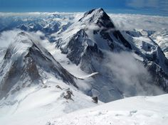 Gasherbrum I also known as Hidden Peak or K5 is the 11th highest mountain Photo by JVestak [1024X767] #reddit
