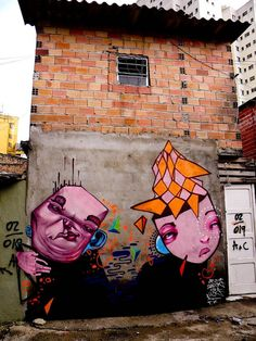 Graffiti in São Paulo, Brazil