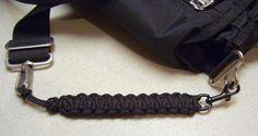 Great Idea!! Paracord Cobra Stitch Strap Extender.