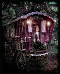 I would put this in the enchanted forest of my pretend house.
