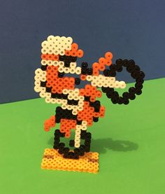 Such a classic!  A personal favorite from my Etsy shop https://www.etsy.com/listing/237298686/nintendo-excitebike-perler-bead-sprite