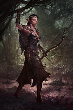 Jeremy Fenske Art: Elf Hunter