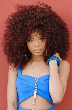Nice Color - http://www.blackhairinformation.com/community/hairstyle-gallery/natural-hairstyles/nice-color/ #bighair #curlyhair