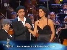 Anna Netrebko: Violetta Valery &; Rolando Villazón: Alfredo Germont Aria Duet - Parigi, o cara - iii Act ii Scene La Traviata Opera By Giuseppe Verdi