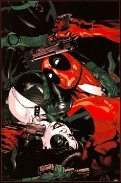 Domino / Deadpool by Jason Pearson