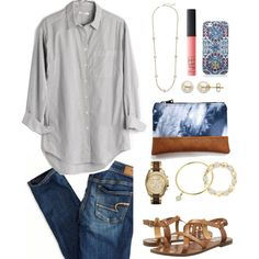 Autumn is almost here! 🍂 by annagabriel on Polyvore featuring Madewell, American Eagle Outfitters, Steve Madden, Michael Kors, Lord & Taylor, Sole Society, Fornash, Kendra Scott, Tory Burch and NARS Cosmetics