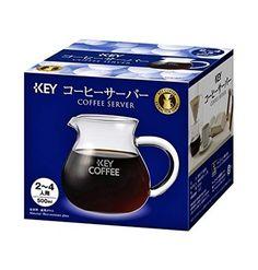 KEY COFFEE Coffee Server 2 - 4 People - 500ml