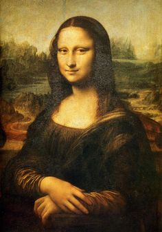 Leonardo da Vinci: Mona Lisa - 1503-1505 I see value at her face were on her cheeks it gets darker the closer you get to her hair and also around her eyes.