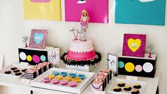 Ideas de decoración para fiesta de cumpleaños de Barbie