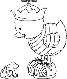 desenhos riscos patinhos decoracao quarto  pintura fraldas bebe (4)