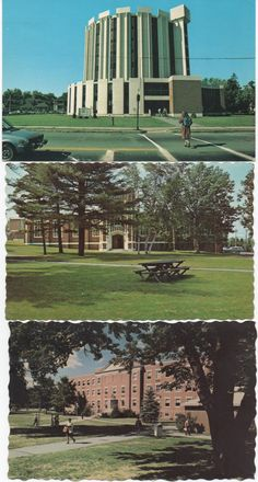 3 Unused Postcards, Gorham State Teachers College/University of Southern Maine, Portland, Gorham, Maine c1970 - 80s, good shape by VintageNEJunk on Etsy