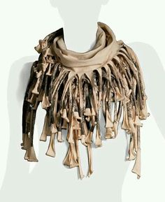 Trippy post apocalyptic scarf/cowl