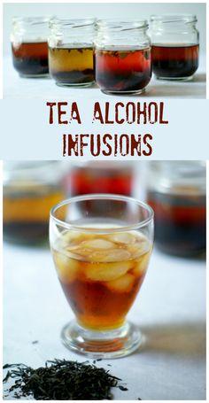 Tea Alcohol Infusions #tea http://livedan330.com/2015/06/19/tea-alcohol-infusions/