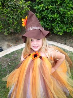 Scarecrow Tutu Costume by Ribbonz N Curlz