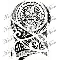 Marketplace Tattoo Polynesian Arm-Shoulder #5962 | CreateMyTattoo.com